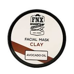 FNX BARBER FACIAL CLAY MASK AVOCADO OİL 300 ML